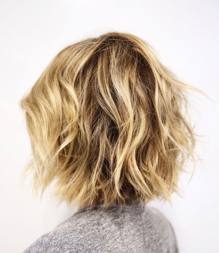 Multidimensional Blonde Texture