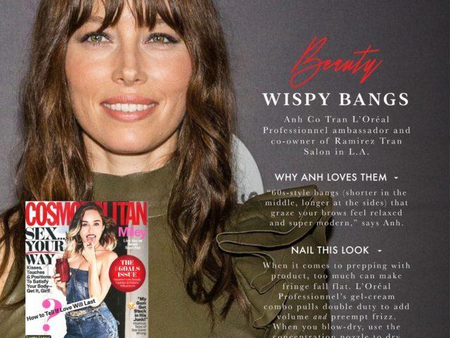 Jessica Biel – Wispy Bangs
