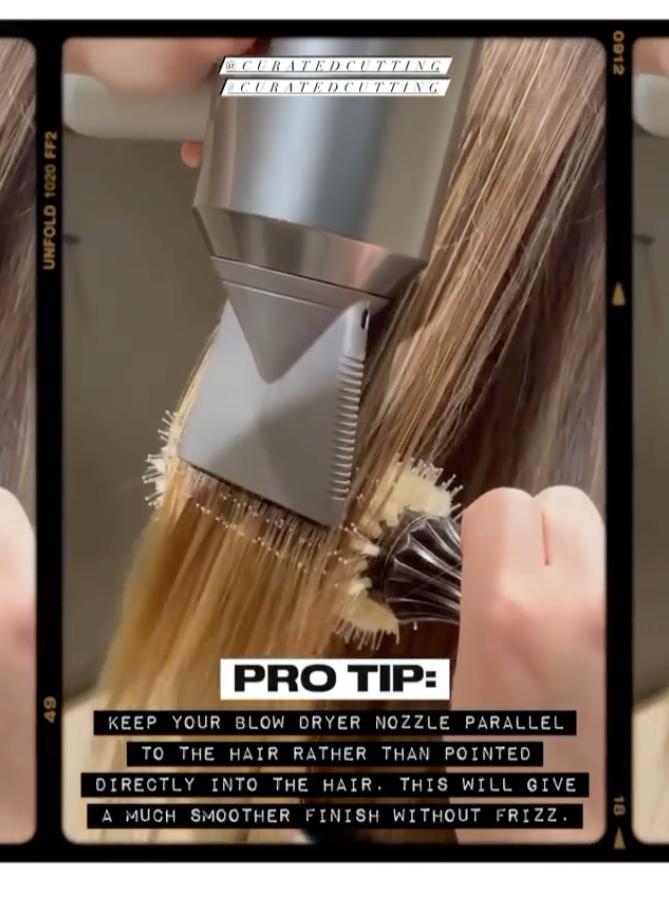 Pro Tip: Blow Dry