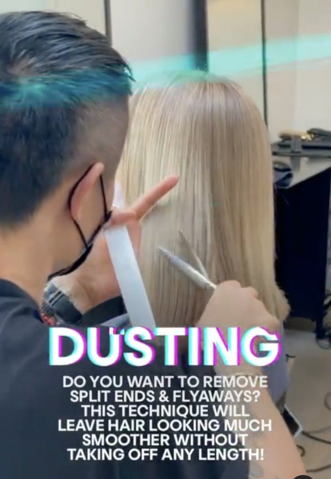 Pro Tip: Dusting