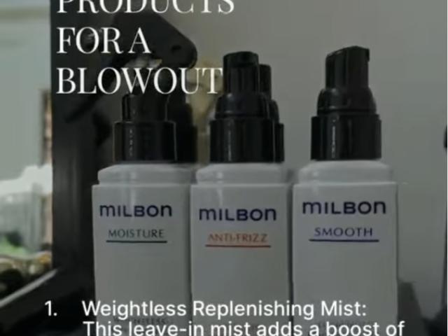 Pro Styling: Milbon